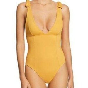 L Space Swimsuit Size 6 Small Golden Yellow